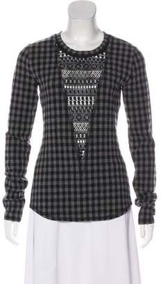 Marissa Webb Long Sleeve Printed Top w/ Tags