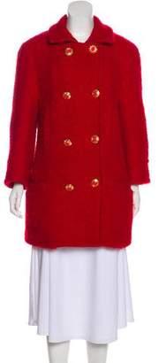 Versace Vintage Virgin Wool Coat