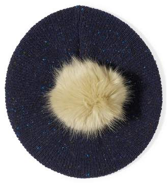 Jigsaw Donegal Beret Pom Hat