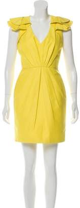 Andrew Gn Ruffled Mini Dress