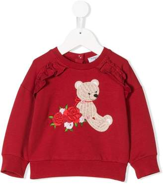 MonnaLisa teddy sweatshirt