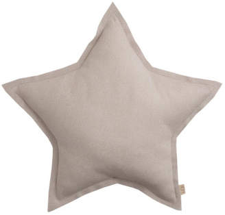 Numero 74 Tulle Glitter Star Cushion - Powder