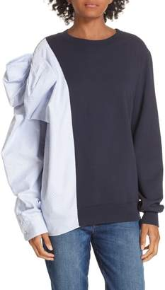 Clu Bow Colorblock Sweatshirt