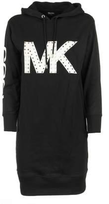 Michael Kors Hooded Logo Dress