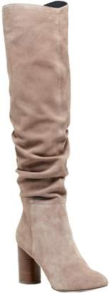 Sole Society Slouchy Tall Leather Boots - Bali