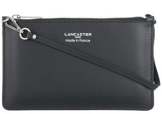 Lancaster logo stamp clutch