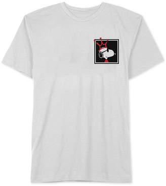 Hybrid Men's Snoopy Bad King Graphic T-Shirt