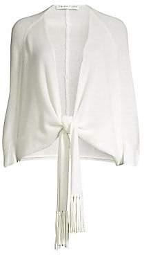 Trina Turk Women's Florentina Cashmere Tie-Front Sweater