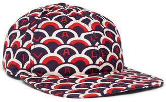 Valentino Printed Cotton-Twill Baseball Cap - Men - Navy