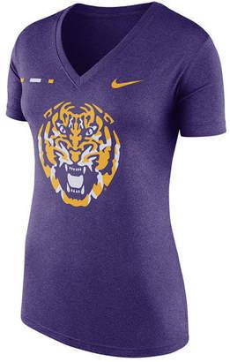 Nike Women's Lsu Tigers Stripe Bar T-Shirt