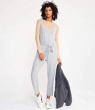 Lou & Grey Brushmarl Sleeveless Jumpsuit