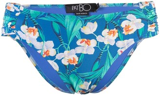 PatBO high rise bikini bottoms
