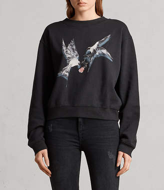 AllSaints Lovers Tia Sweatshirt