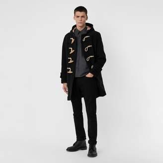 Burberry Straight Fit Stretch-denim Jeans , Size: 32R, Black