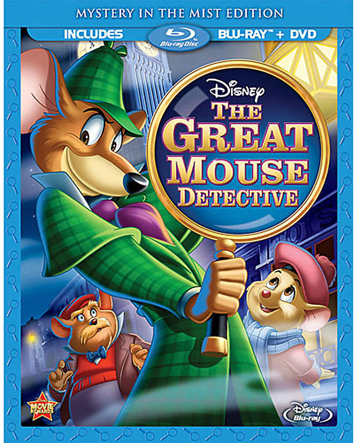 Disney The Great Mouse Detective Blu-ray and DVD Special Edition Combo