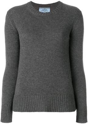 Prada crew neck jumper