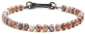 Bottega Veneta Agate-stone bead bracelet