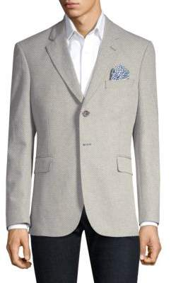 Robert Graham Notch Textured Jacket