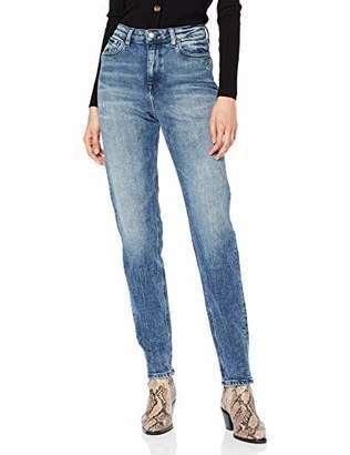 6a24ce29a7 Tommy Hilfiger Women's TH ESS Gramercy TAPERD HW Tammie Boyfriend Jeans,  Blue 912, W29