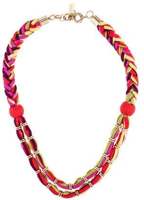 Missoni Multicolored Rope Necklace