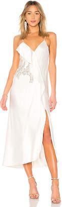 Mestiza New York Natalia Ruffle Midi Dress
