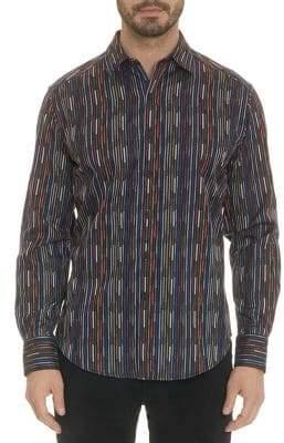 Robert Graham Shepard Long Sleeve Egyptian Cotton Shirt