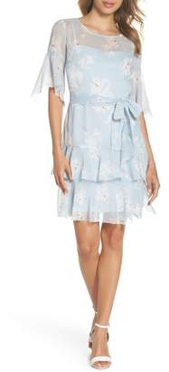French Connection Alba Tie Waist Dress