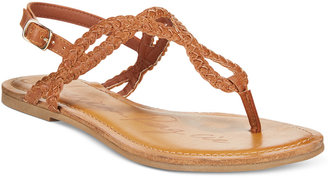 American Rag Keira Braided Flat Sandals, Only at Macy's $29.50 thestylecure.com