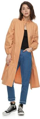 K Lab k/lab Ruffled Tiered Trench Coat