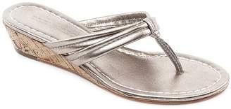 Bernardo Miami Two Strap Wedge Sandals