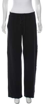 Burberry Nova Check Mid-Rise Sweatpants