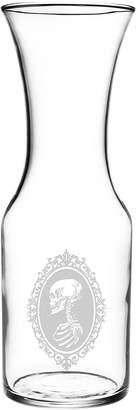 Susquehanna Glass Co. Skull Cameo Carafe