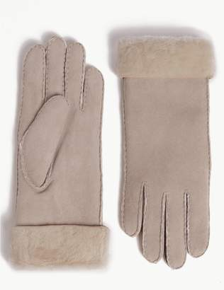 Marks and Spencer Sheepskin Gloves