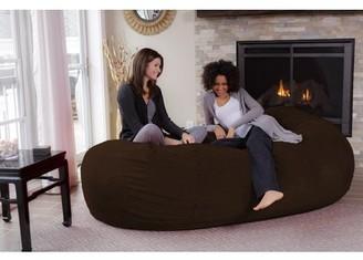 Chill Sack Giant 7.5 ft Bean Bag Lounger, Multiple Colors/Fabrics