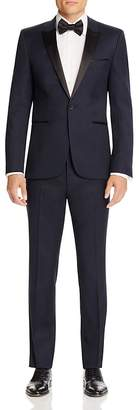 HUGO Aylor Herys Navy Tuxedo - Slim Fit $1,095 thestylecure.com