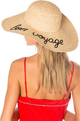 Hat Attack Bon Voyage Sunhat $96 thestylecure.com