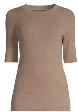 Lafayette 148 New York Ribbed Knit Sweater