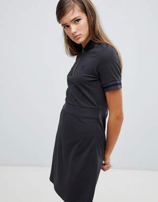 Fred Perry Vinyl Collar Pique Dress