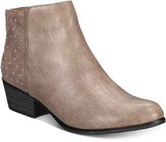 Esprit Tiara Memory-Foam Studded Booties Women's Shoes