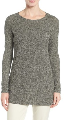 Women's Eileen Fisher Texture Knit Sweater $238 thestylecure.com