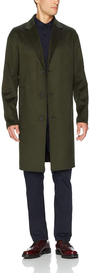 Theory Men's Cahsmere Wool Top Coat Outerwear, -, XL