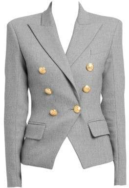 Balmain Veste 6 Double-Breasted Blazer