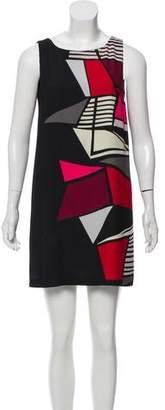 Paule Ka Sleeveless Mini Dress
