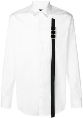 DSQUARED2 contrast strap shirt