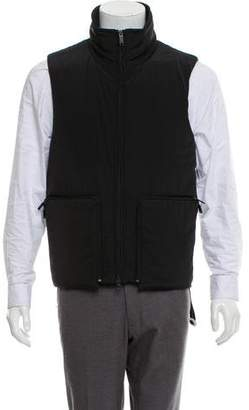 Y-3 Collared Zip-Up Vest