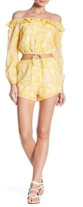 Honeybelle Honey Belle High Waisted Patterned Shorts