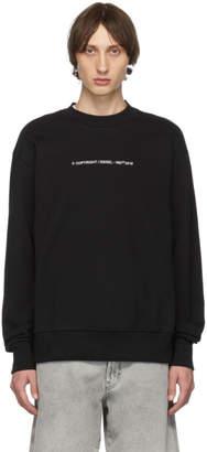 Diesel Black S-Bay-Copy Sweatshirt