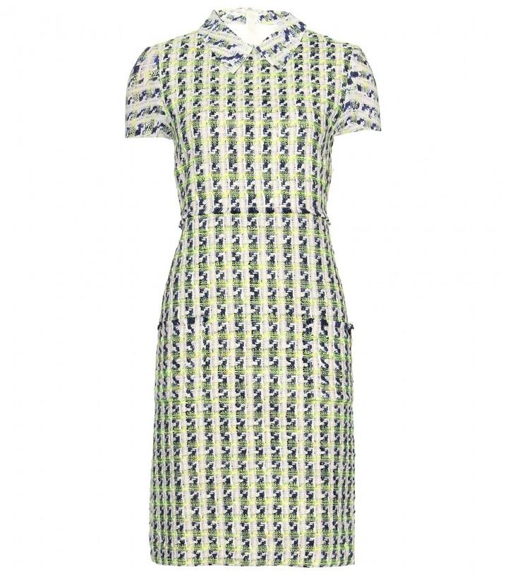 Erdem Jakina bouclé dress