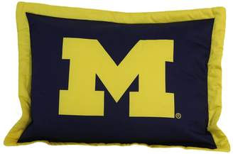NCAA Kohl's College Covers Michigan Wolverines Printed Pillow Sham