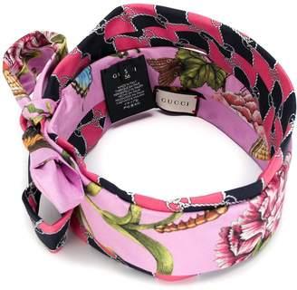 61c30a956d5 Gucci Floral bow detail headband